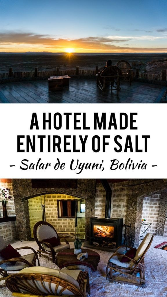 A hotel made of salt on the edge of the world's largest salt flat? It's an incredible and memorable place to pass the night... A bit of luxury in a harsh and unforgiving environment.