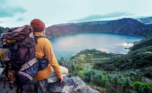 Las excursiones , el ecoturismo  y los deportes extremos  son las actividades favoritas de los moch...