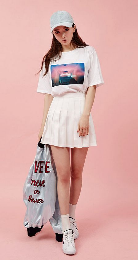 Pleated Mini #Skirt #miniskirt