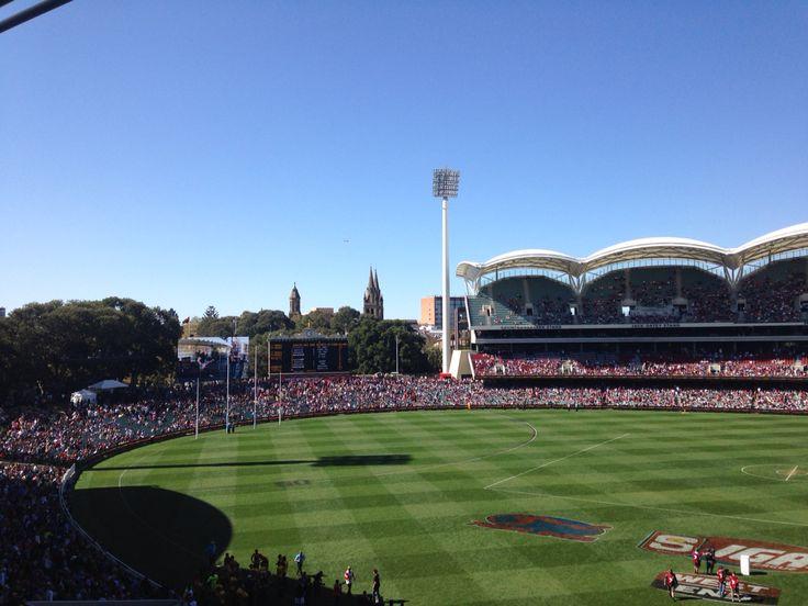 Adelaide Oval. SANFL GF 2014. Norwood Premiers. #3peat