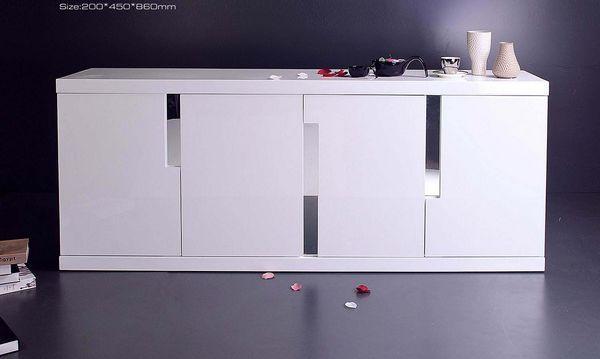 """Granville"" High Gloss Polyurethane MDF Buffet | Australia A1 Furniture"
