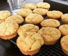 Recipe Cheese, ham and hidden veggie muffins by mirandapaton - Recipe of category Baking - savoury