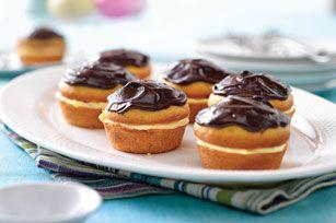 Boston Cream Pie Minis Recipe - Kraft Recipes