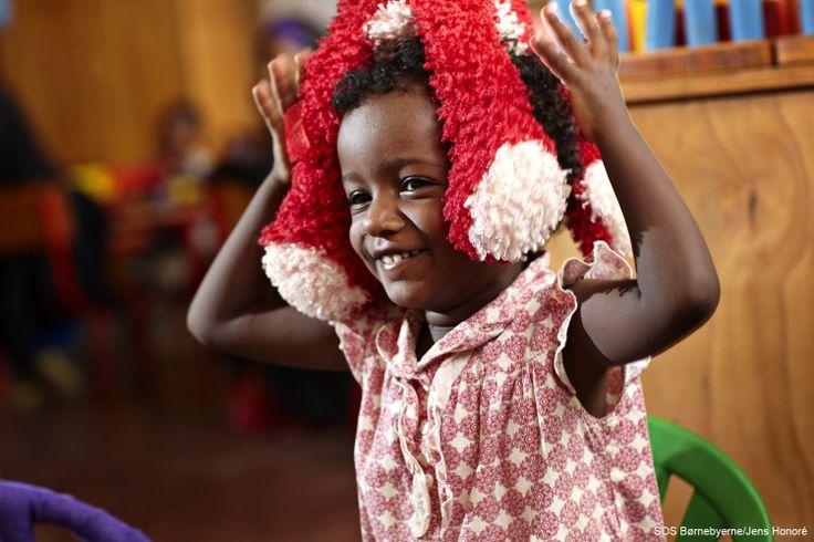 Et barn i SOS-børnehaven i Gode, Etiopien. #Godebarndomsminder #Etiopien