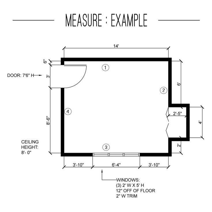 Edesign measure your room interior design fs4703 teks for Edesign plans