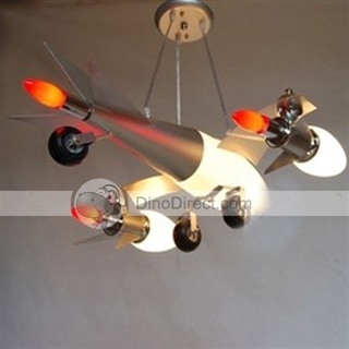 Awesome airplane ceiling lamp