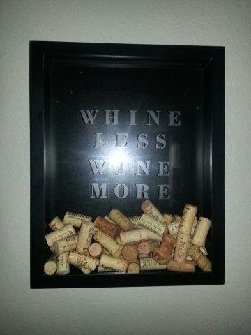 Wine cork holder by SimplyAshlyn on Etsy, $50.00