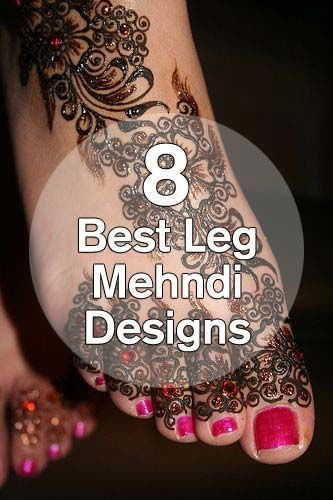 Best Leg Mehndi Design : Best leg mehndi designs our top picks henna ink and