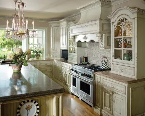 Beautiful French Country Kitchens 47 best country french kitchen cabinets images on pinterest