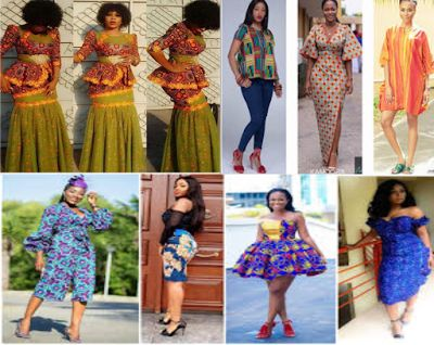 TODAY LATEST NEWS IN NIGERIA: LONG AND SHORT ANKARA PEPLUM DRESSES STYLES OF THE...