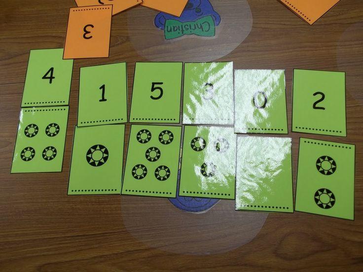 Math Tubs in Kindergarten: Math Tubs Week Three day 2
