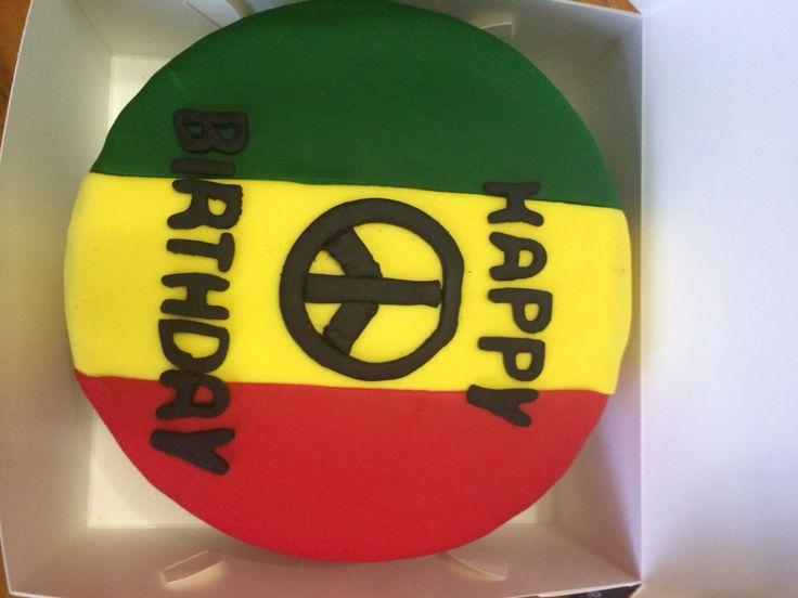 Ashleigh's bob marley cake