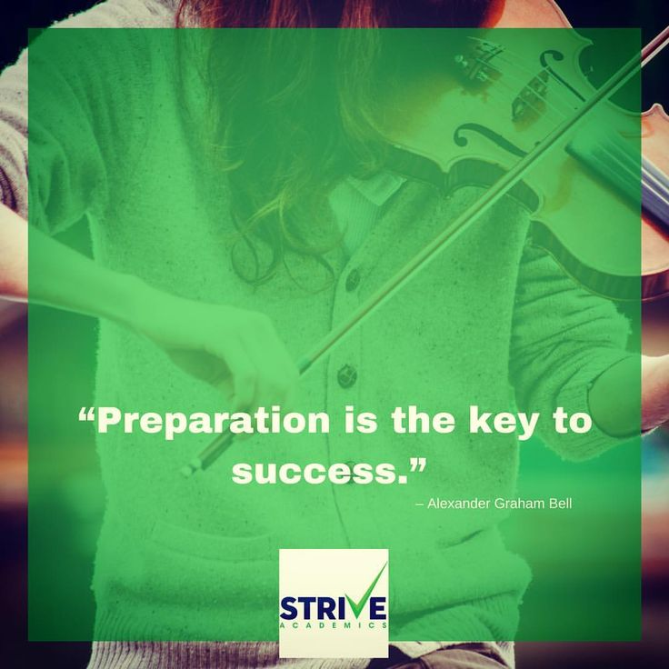 """www.striveacademics.com """"Preparation is the key to success."""" – Alexander Graham Bell"""