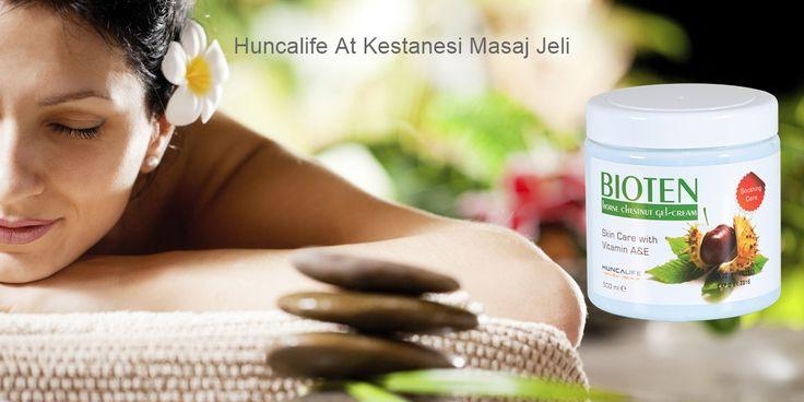Huncalife Bioten At Kestanesi Masaj Jeli. Bioten At kestanesi kremini masajlarda, kramp ve varis tedavilerinde kullanabiliriz.