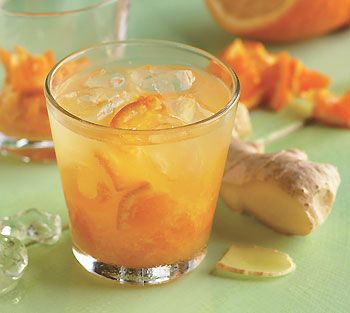 Tangerine-Ginger Caipirinhas  3 small chopped seeded tangerines or small oranges (no need to peel)  1/4 cup sugar  1 tablespoon grated peeled ginger  3/4 cup tangerine juice  1 1/2 cup cachaça (Brazilian sugarcane liquor) or vodka