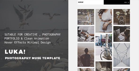 LUKA - Creative Multi-Purpose Muse Template