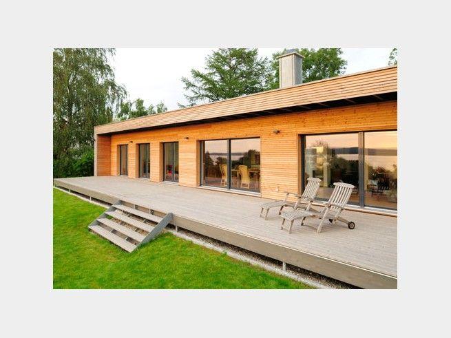 Holzhaus bungalow flachdach  17 besten Bio-Bungalow Bilder auf Pinterest | Haus ideen, Hausbau ...