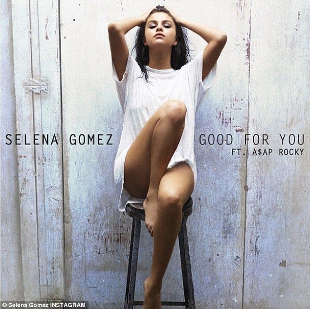 'So excited': Selena Gomez unveiled the sultry album art for Good For You on Instagram Friday