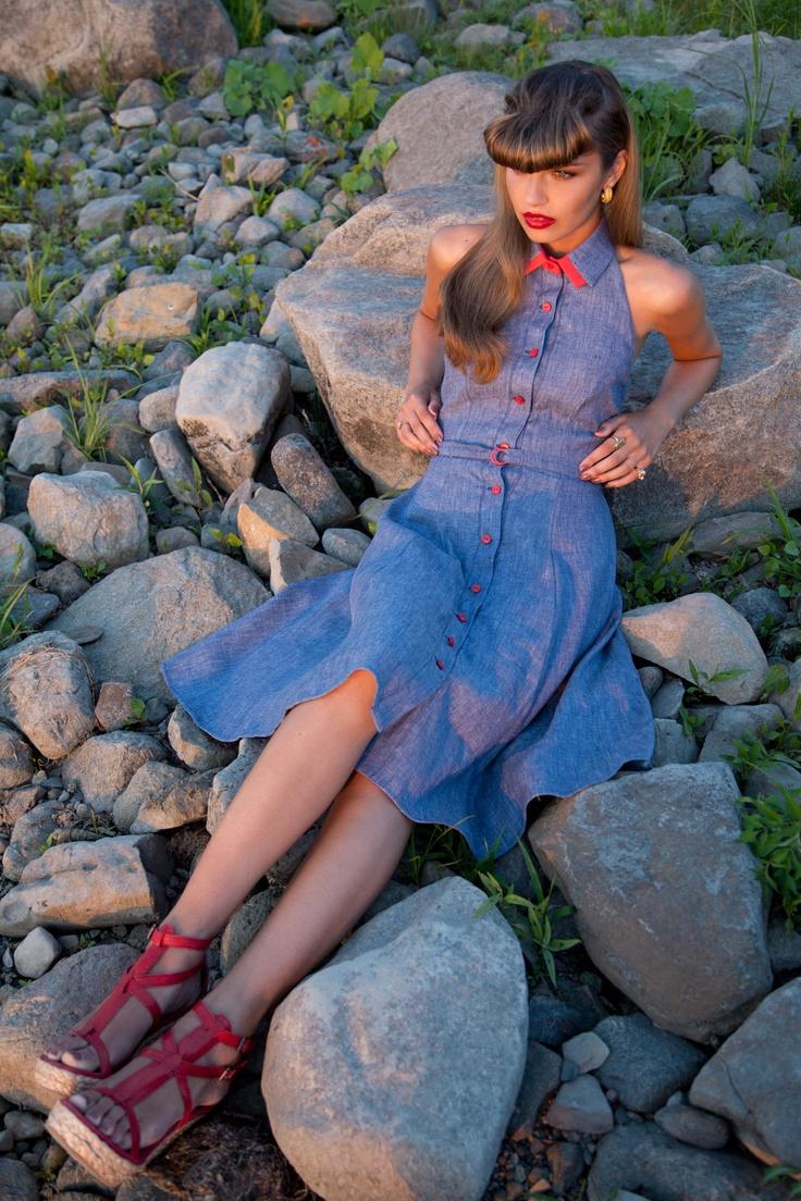 Veronica Lake (robe/dress)