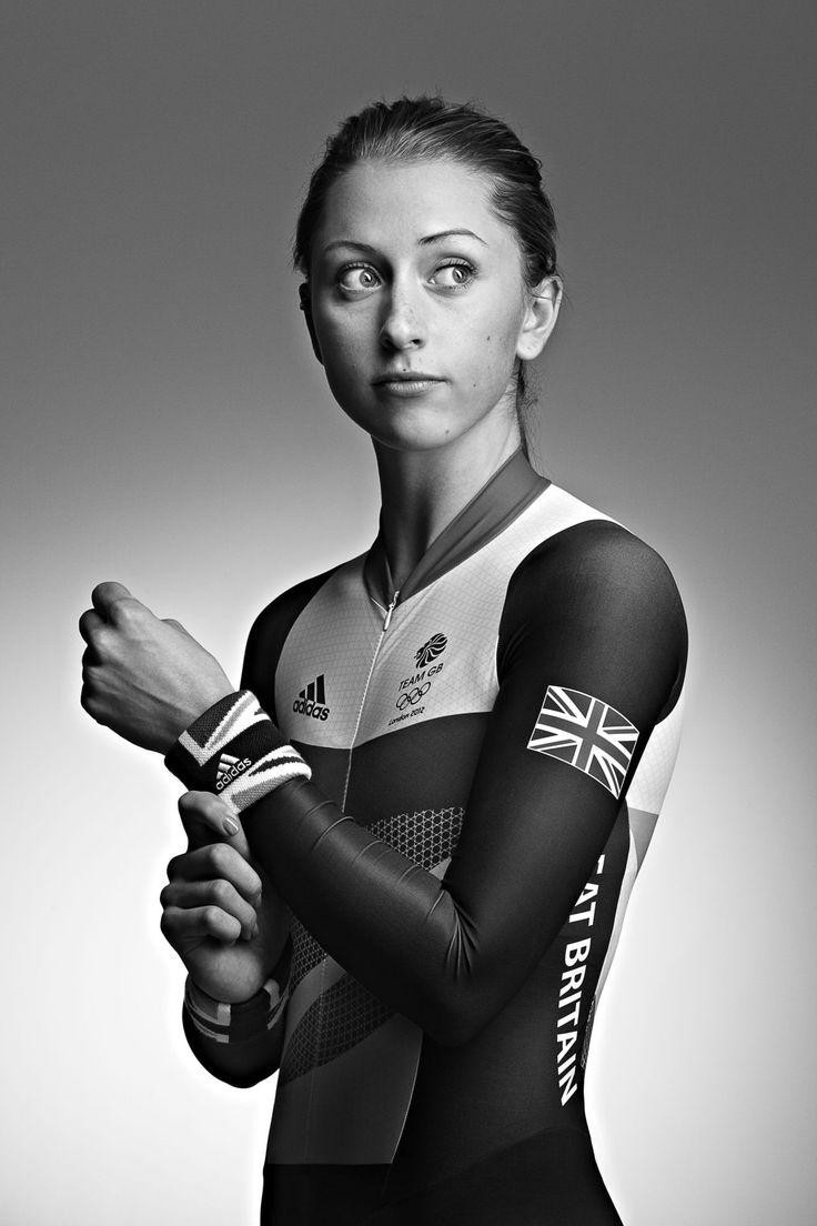 Laura Trott in her Olympic kit