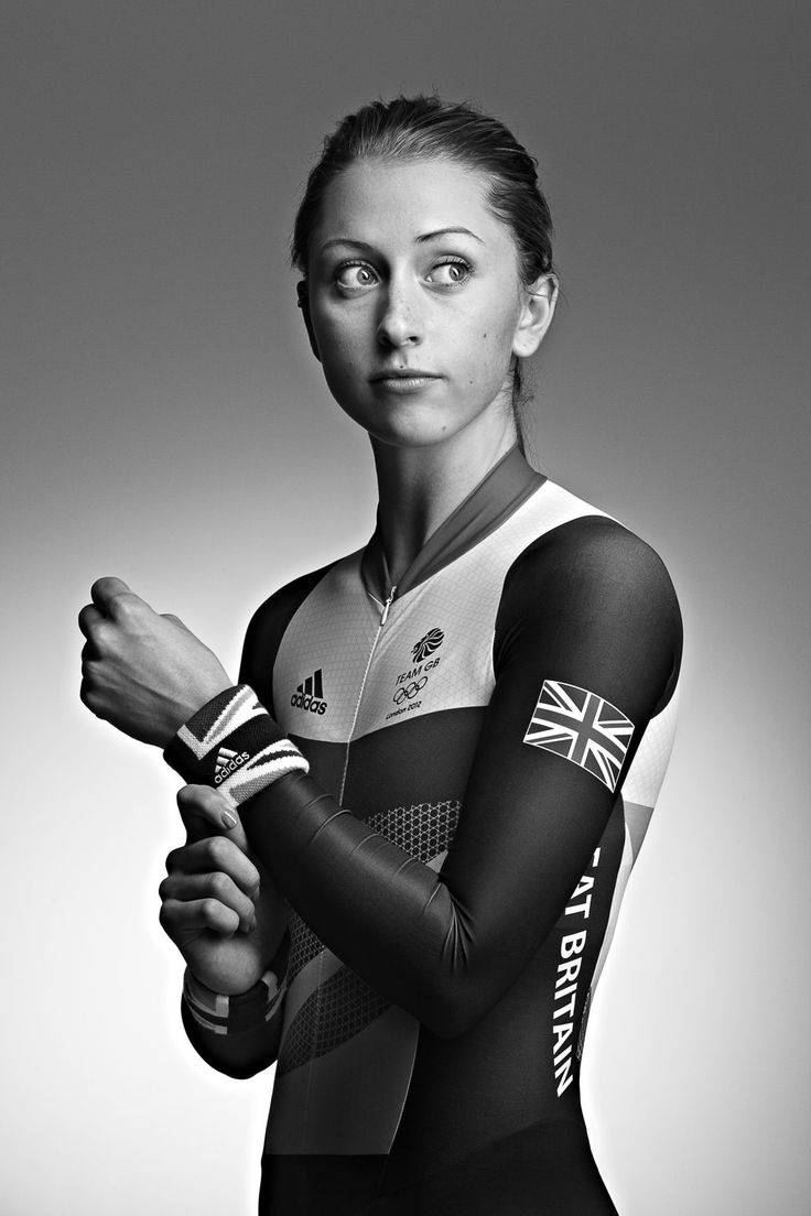 Laura Trott in her Olympic kit