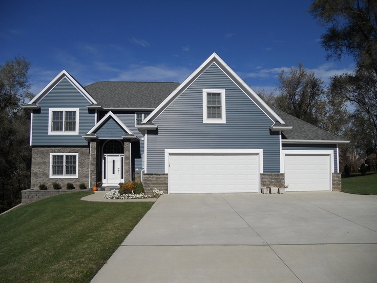 Pacific blue siding on pinterest house tours colors and blue and