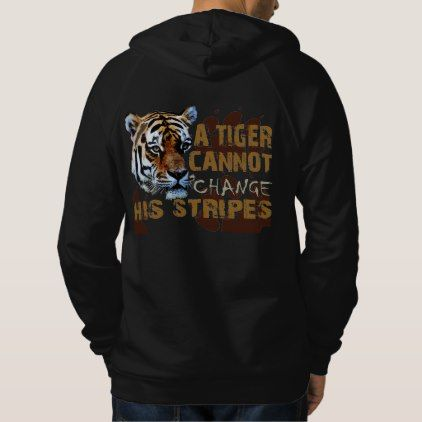 Tiger Hoodie - animal gift ideas animals and pets diy customize