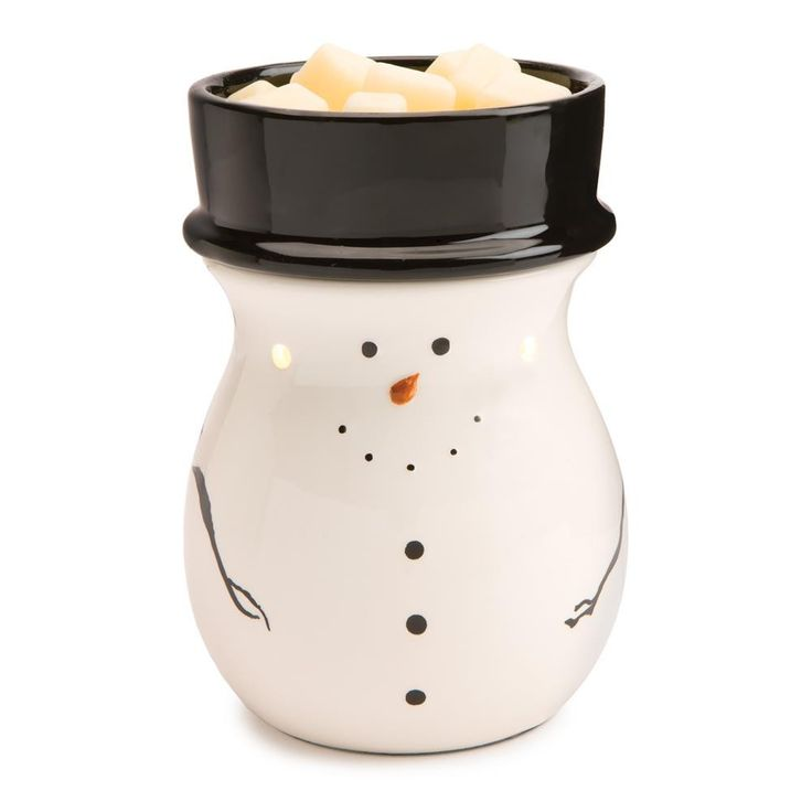 Snowman Illumination Electric Tart Warmer – MNM Gifts