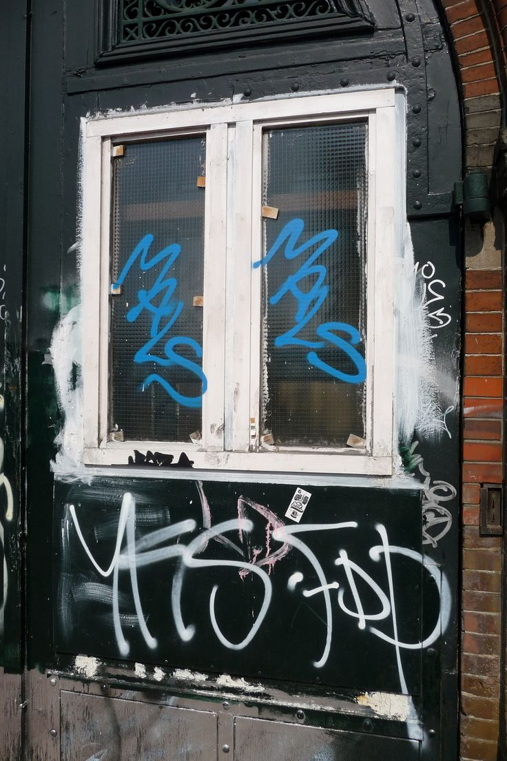 Graffiti wall amsterdam -  Decorated Front Door Covered With Graffiti Tags Of A Century Residence Amsterdam City In Spring Geotag Free Urban Picture In Public Domain Commons