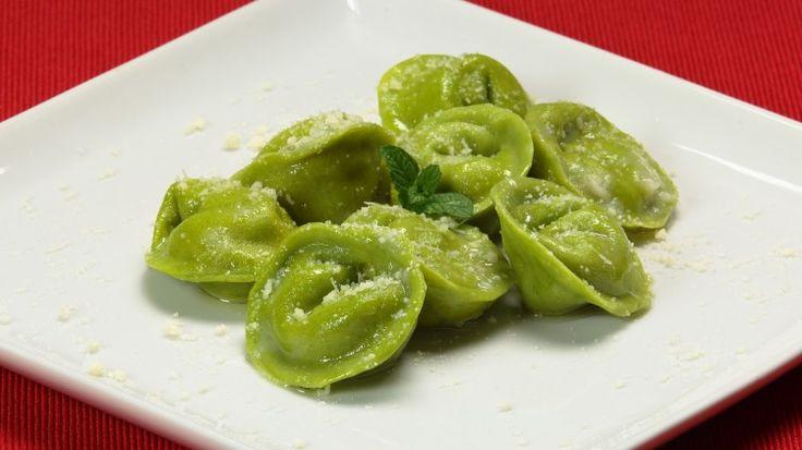 Ricetta Ravioli verdi con ricotta e mortadella