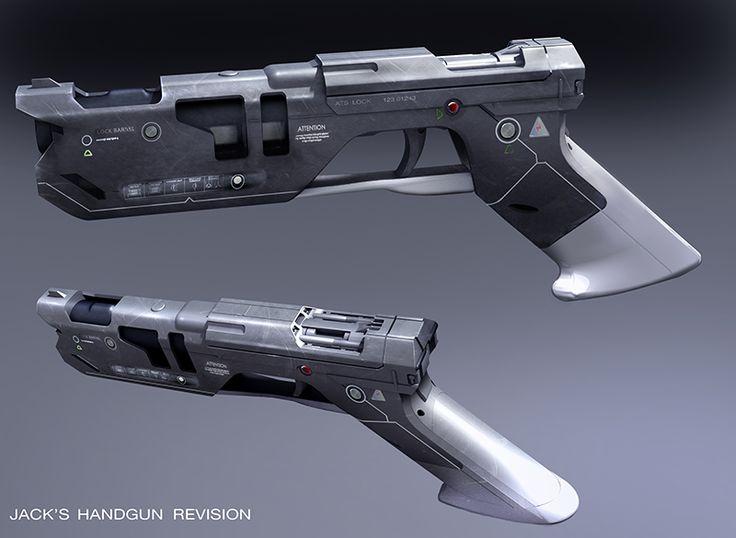 oblivion jacks handgun revision jim martin design