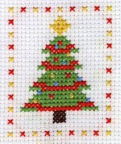 Freebie Gallery: Christmas tree by Yiota's XStitch