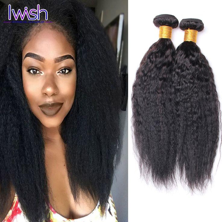 Brazilian Yaki Straight Hair 3 Bundles Human Hair Kinky Straight Virgin Hair Brazilian Kinky Straight Hair Weave Sales