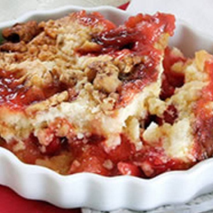 Angel Food Dump Cake With Cherry Pie Filling