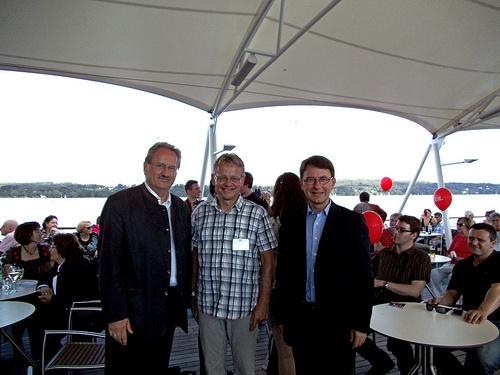 Christian Ude, Martin Dameris und Tim Weidner