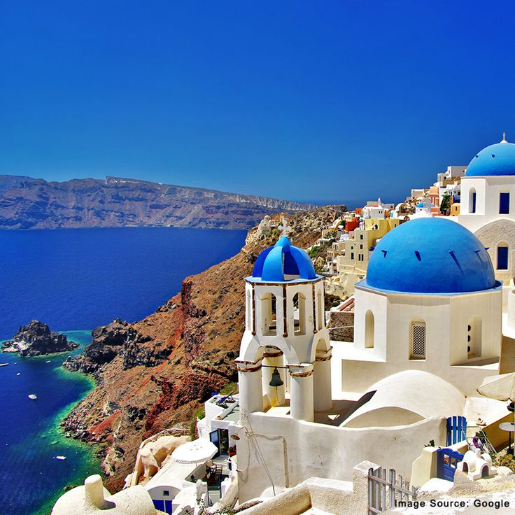Wouldn't you like to escape to Greece for a vacation?
