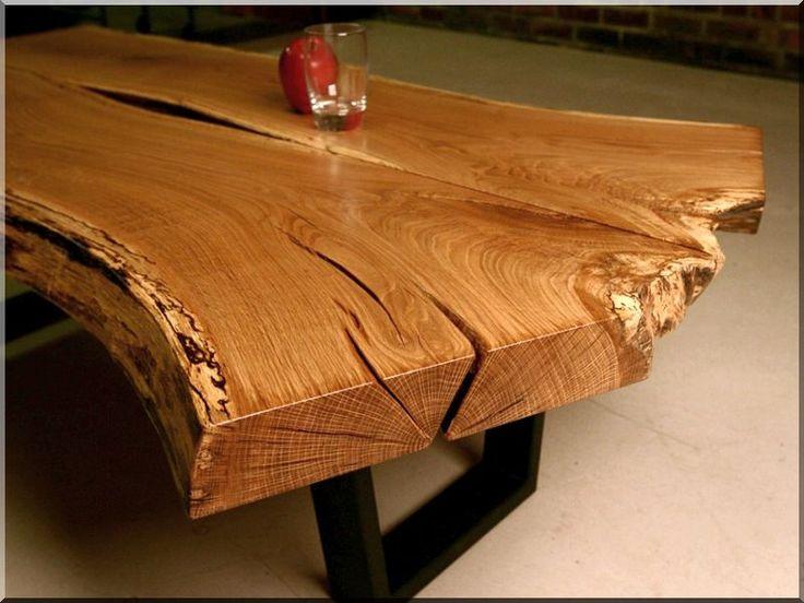 Natúr fa asztal