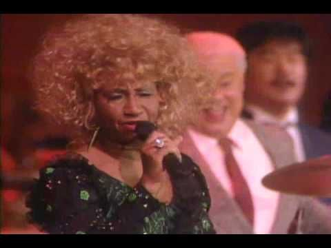 Celia Cruz y Tito Puente - Quimbara.... Oh my gosh!! This true latin music at its finest. look at how much fun theyre having! And dancin at at that old age! So cool