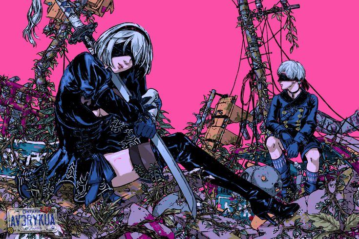 Avery Kua Illustration Aesthetic anime, Horror art