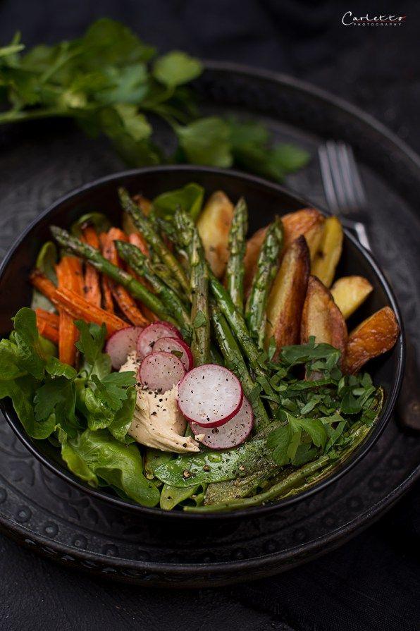 Frühlings Spargel Bowl   Rezept   Schnelle Küche - Blitzrezepte für ...