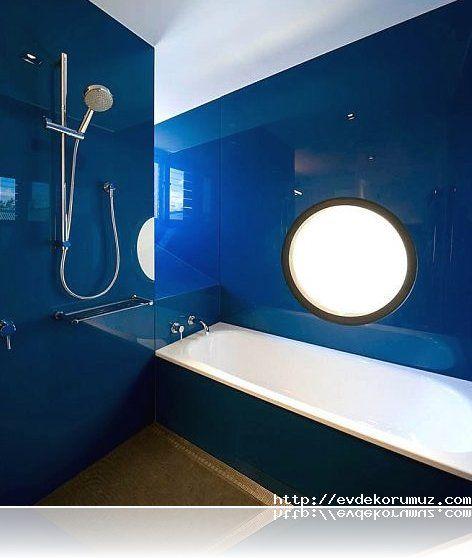 Mavi Banyo Modeli