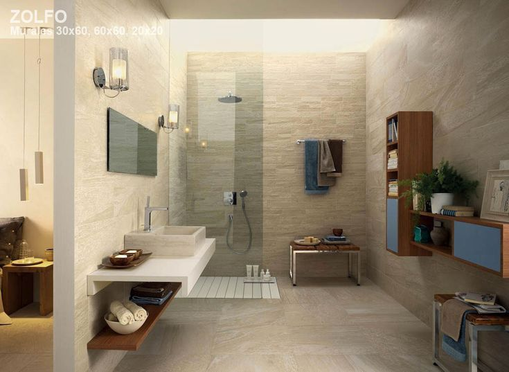 Slaapkamer Natuurtinten : Natural Stone Look Porcelain Tile