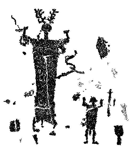 Horned God from Valcamonica, Italy    http://www.ccsp.it/Valcamonica/valcamonica_cronologia.html