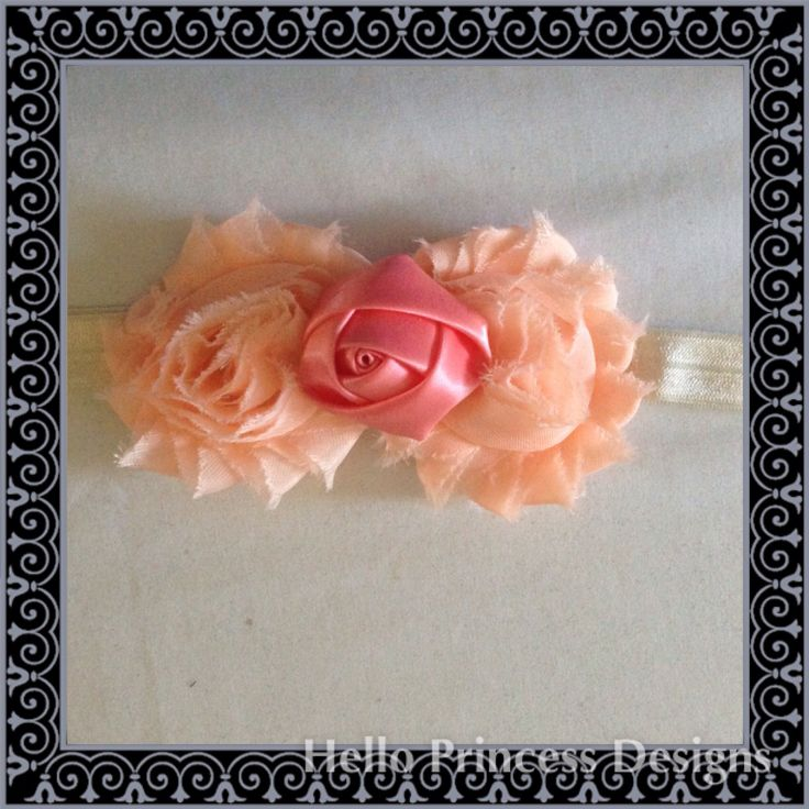 A little Rosette Hairband