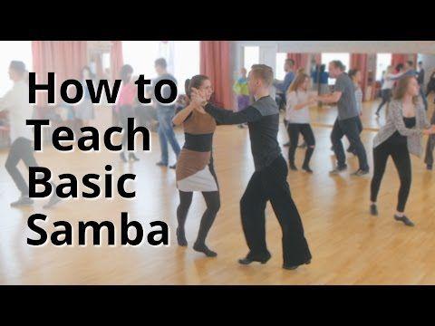 Lezione - Come ballare Samba di base per i principianti Danza latina - YouTube