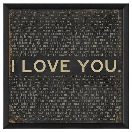I Love You Framed Print from Joss and Main #poachit