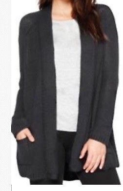 ed3251279b Matty M Women s Wool Blend Crochet Open Front Cardigan Sweater XX ...