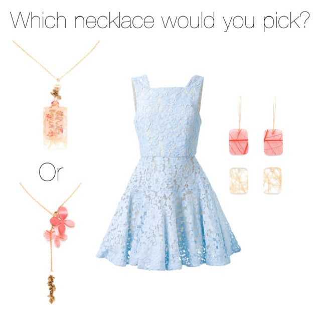 """This or That"" by kirsten-noelle-ismond on Polyvore featuring Alex Perry"