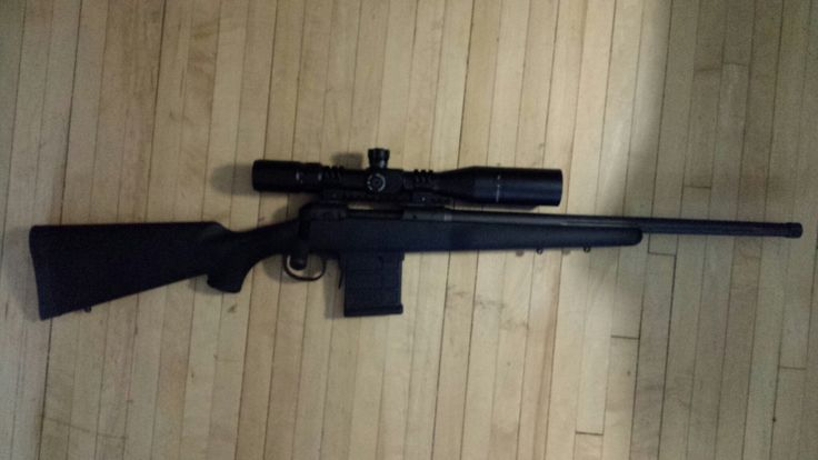 SAVAGE MODEL 10 FCP-SR WITH ACCURATE-MAG ACIS BOTTOM METAL