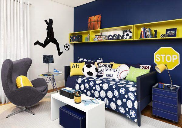 Ideias de quartos para crianças